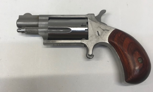 North American Arms Mini Revolver 22 mag Stainless Preowned