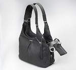Gun Tote'n Mamas GTM-32 Pleated Slouch Black