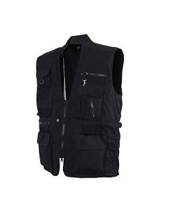 Rothco Concealed Carry Black Vest