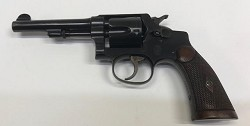 "Smith & Wesson Regulation Police 38sw 4"" Revolver Preowned"